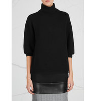 Max Mara Ovale black wool and cashmere blend jumper