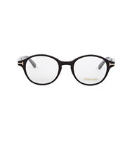 Tom Ford Black oval frame optical glasses