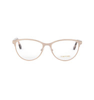 Tom Ford Rose gold cat eye optical glasses