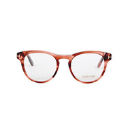 Tom Ford Rust round frame optical glasses