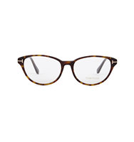 Tom Ford Tortoiseshell oval frame optical glasses