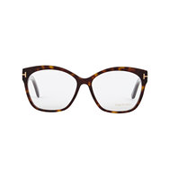Tom Ford Tortoiseshell wayfarer style optical glasses