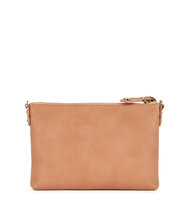 Vivienne Westwood Balmoral blush leather clutch