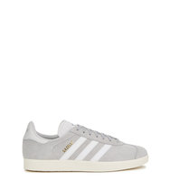 adidas Originals Gazelle light grey suede trainers