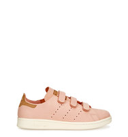 adidas Originals Stan Smith light pink nubuck trainers