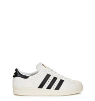adidas Originals Superstar 80s snake effect leather trainers