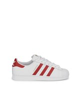 adidas Originals Superstar white leather trainers