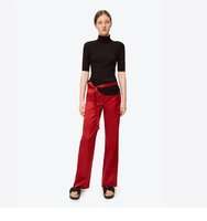 Satin Belted Trouser