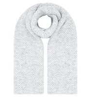 Accessorize Basketweave blanket scarf Light Grey
