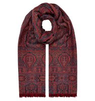 Accessorize Kashmir paisley jacquard scarf Multi Coloured