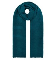 Accessorize Lily ribbed scarf Blue