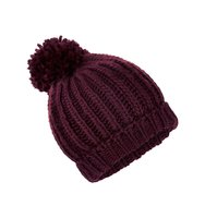 Accessorize Opp pom beanie hat Red