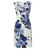 Adrianna Papell Cap sleeve floral dress Multi Coloured