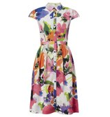 Adrianna Papell Floral shirt dress Multi Coloured