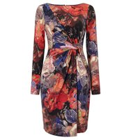 Adrianna Papell Multicolour floral sheath dress Multi Coloured