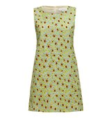 Almost Famous Embroidered Floral Dress Green