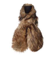 Barbour Faux fur wrap Natural