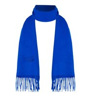 Boutique Moschino Logo wool scard Cobalt
