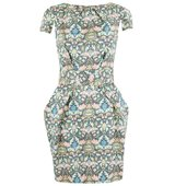 Closet Multi Floral Tie Back Dress Multi Coloured
