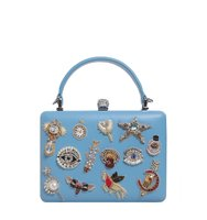 Alexander McQueen Charms Case Bag With Skull