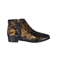 Anna Baiguera Blazing Wave Sequinned Ankle Boots