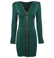Balmain Balmain Fitted Hook Fasten Dress