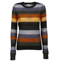 Isabel Marant Etoile Tatoo Blue Cassy Striped Crewneck