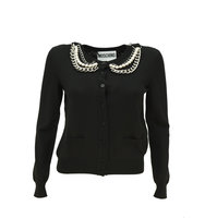 Moschino Chain Collar Cardigan