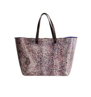 Victoria Beckham Victoria Beckham Multicolor Leather Shopping Bag