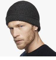James PerseChunky Knit Cashmere Beanie