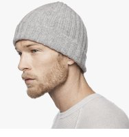 James PerseRibbed Cashmere Beanie