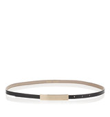 Jimmy Choo Blossom Black Patent Leather Belt