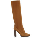 Jimmy Choo Honor 95 Canyon Suede Knee High Boots