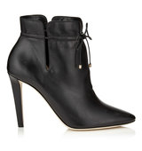 Jimmy Choo Murphy 100 Black Soft Leather Ankle Boots