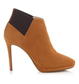 Jimmy Choo Talula 100 Canyon Suede Ankle Booties