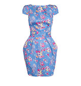 Closet Floral Tie Back Dress Multi