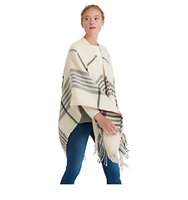 Joules Innis Check Print Wrap