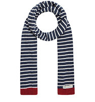 Seasalt Sailor Scarf Breton Mix French Navy