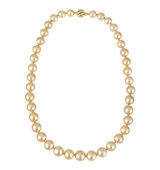 14k Golden South Sea Pearl Necklace