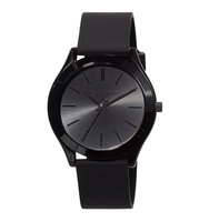 42mm Slim Runway Watch w Silicone Strap