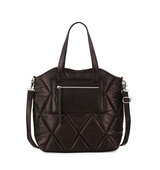 Abana Quilted Leather Tote Bag