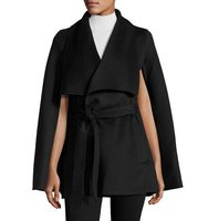 Abby Wool Blend Wrap Coat