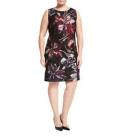 Carol Sleeveless Floral Print Dress