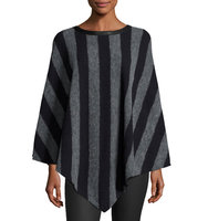 Cassidy Striped Poncho