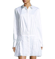 Shirtdress w Eyelet Skirt