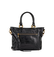 Aimee Kestenberg Morocco Crocodile Embossed Leather Satchel