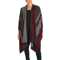 Bailey 44 Striped Knit Poncho
