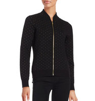Calvin Klein Quilted Knit Cardigan