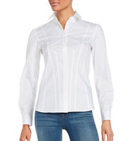 Dkny Long Sleeve Button Down Dress Shirt