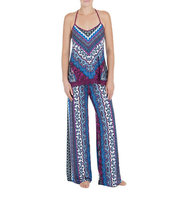 In Bloom Lisbon Printed Camisole Pajama Pants Set